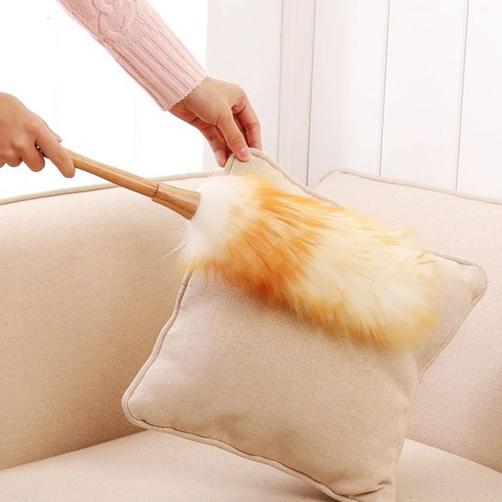 from the dust brush household feather duster dusting cleaning brush wool dust brush for dust broom