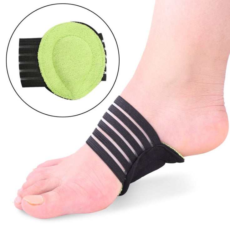 1Pair New Fashion Foot Massage Protector Mat Elastic Soft Cushioned Supports Relief for Achy Feet Foot Health Care  Z23201