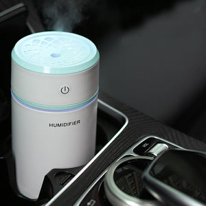 New Mini Pulling humidifier Essential Oil Diffuser Aroma Lamp LED Night Light USB Ultrasonic Fogger Car air freshener