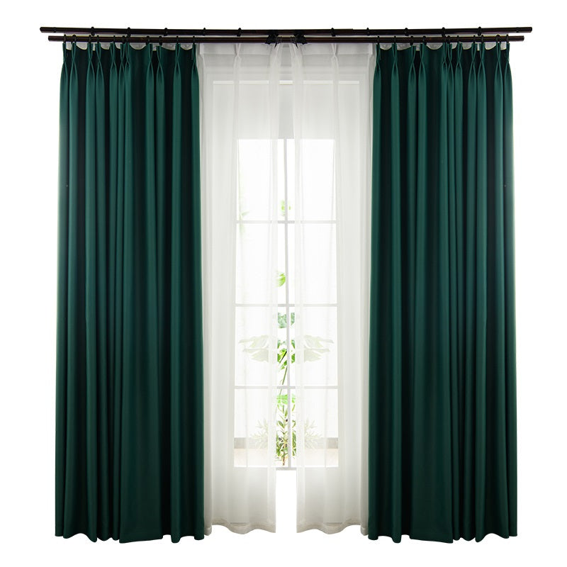 LISM Blackout Curtains For Living Room Window Curtains Kitchen Modern Thick Curtains Window treatment Home Decoration