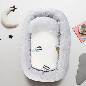Portable Baby Nest Bed Removable Travel Crib Nursery Infant Sleeping Cotton