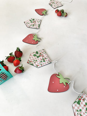 Strawberry Wood Banner