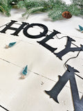 O Holy Night Wood Banner