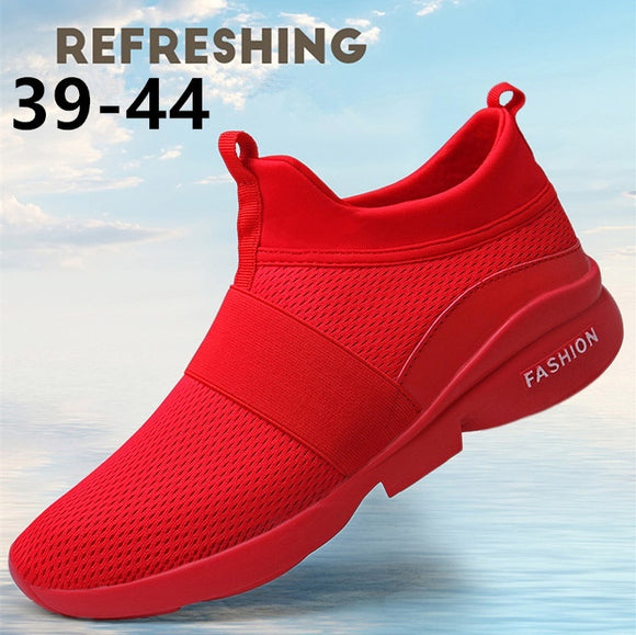 New Fashion Men's Casual Running Sport Shoes Man Breathable Flats Shoes