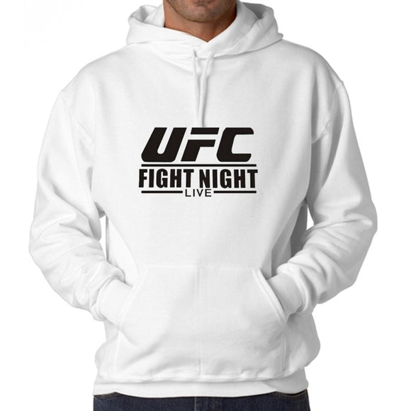 2016 Fashion Cotton Printed UFC Men's Hooded Sweatshirt