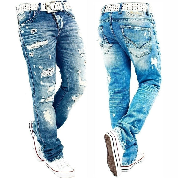 Fashion Men RedBridge By Cipo Baxx Herren Jeans Hose Destroyed Denim Pant