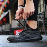 Plus Size Unsex Shoes for Lovers Outdoor Sport Breathable Sneaker Size 35--46