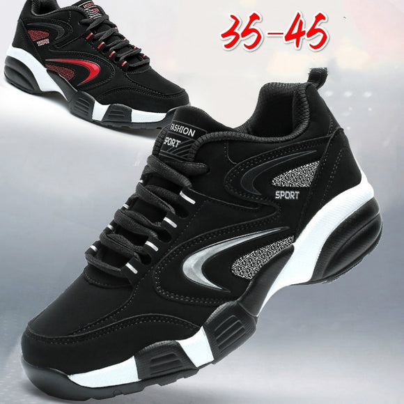Man Sneakers for Men Women Rubber Black Running Shoes for Men Breathable Mesh Sport Shoes Male Female Sneakers 35-45
