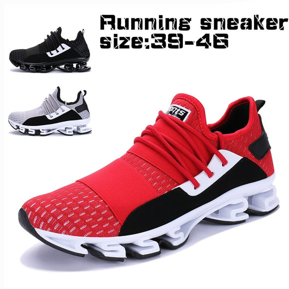 Men's New Breathable Lace Up Leisure Sport Shoes
