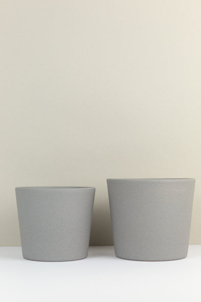 Light Grey Plant Pot