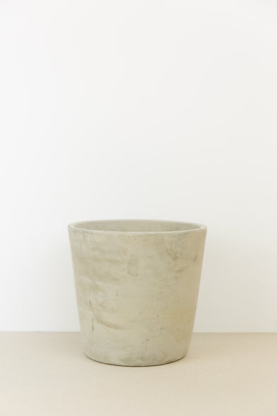 Natural Concrete Plant Pot