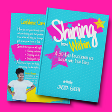 Load image into Gallery viewer, Shining from Within: 30-Day Devotional for Tweens & Teens