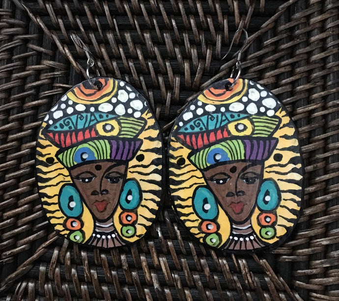 Earrings Via Wearable Art