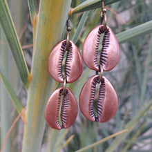 Load image into Gallery viewer, Desna Copper/Brass Earrings