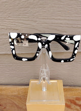 Load image into Gallery viewer, White/Blk Fashion Glasses