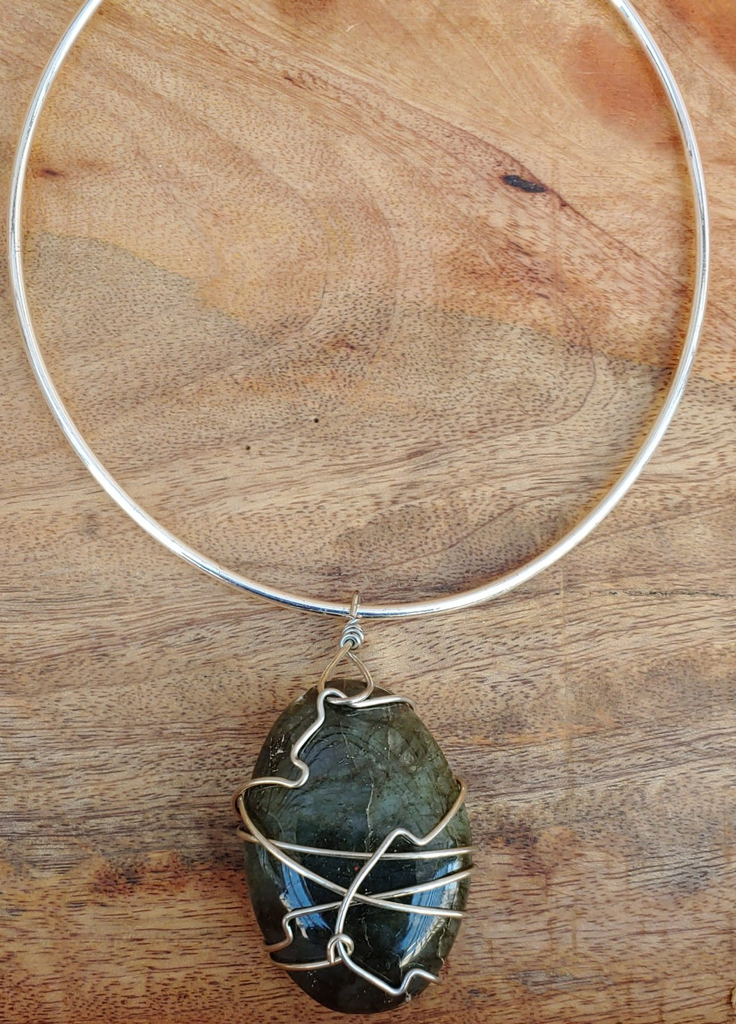 Labradorite Wrap Necklace