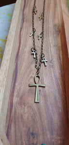Brass Ankh Necklace