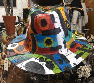 Wearable Art Panama Hat DVIA Accessories