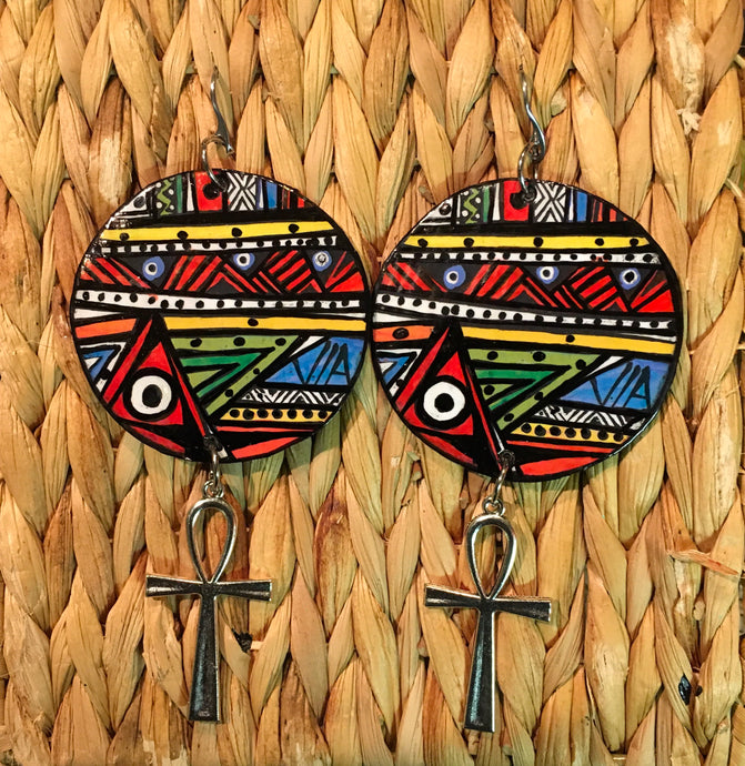 Earrings Afrocentric Wearable Art Earrings