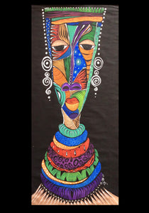 Fine Art Abstract Mask