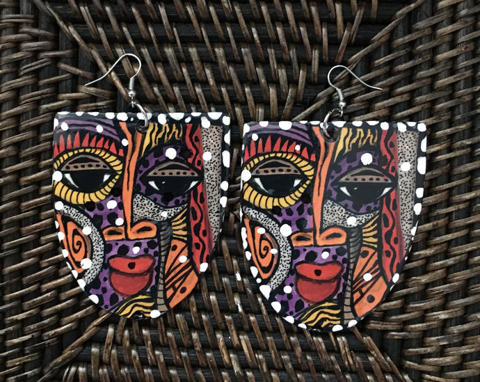 Via Wearable Art Afrocentric Mask