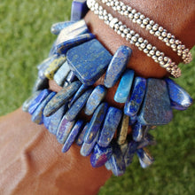 Load image into Gallery viewer, Lois Lapis bracelet set