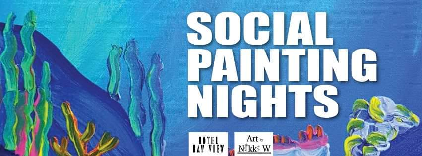 Paint nights at the Hotel Bay View Whyalla