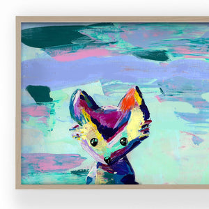 Load image into Gallery viewer, 'Animal Games' | Giclée Modern Art Print - Art by Nikki W