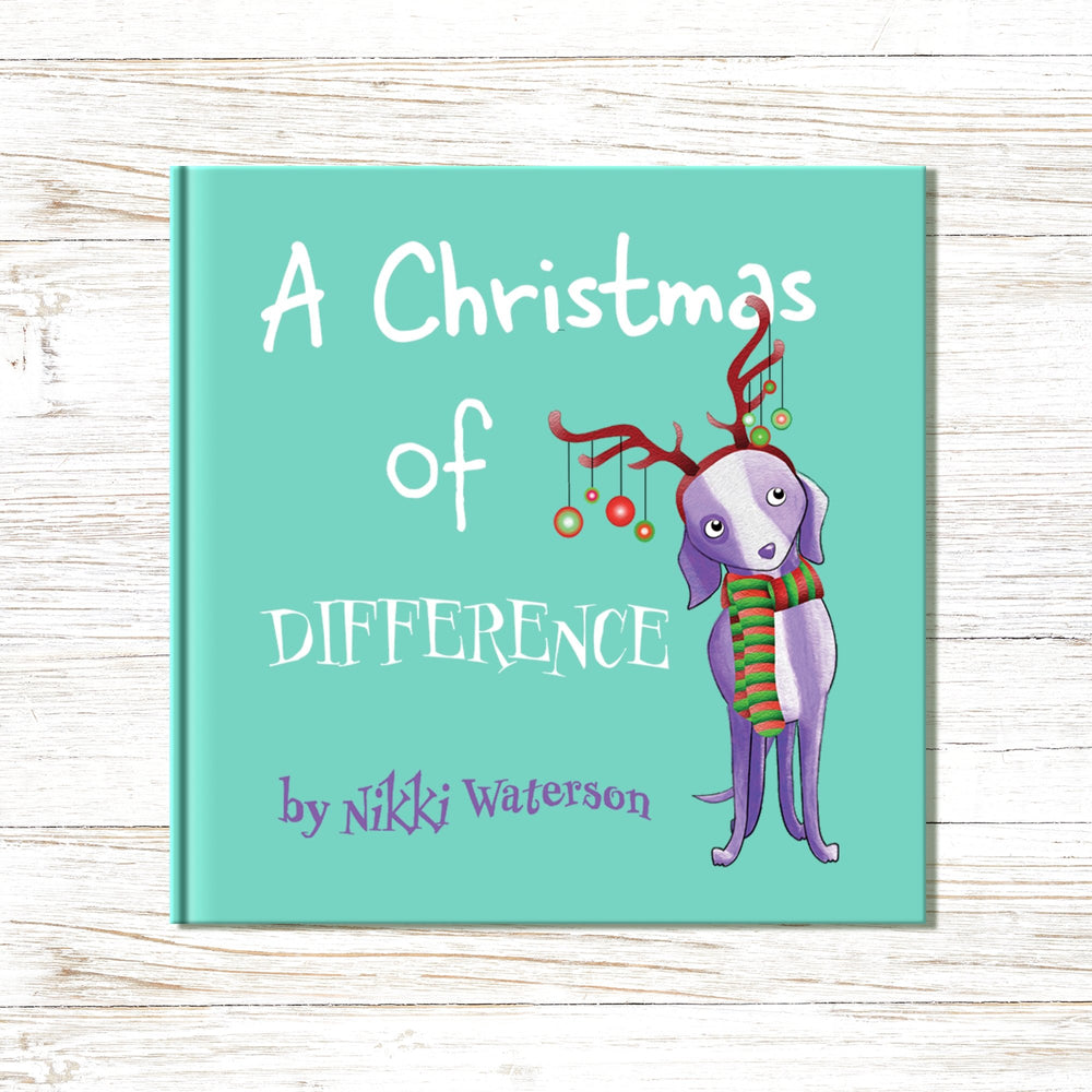 Christmas Picture Book<br> (Personalised Character Names) - Art by Nikki W