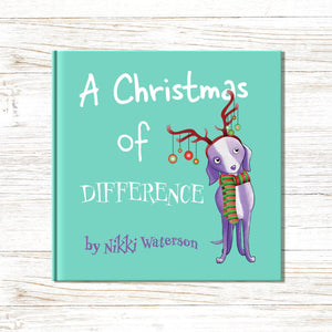 Load image into Gallery viewer, Christmas Picture Book<br> (Personalised Character Names) - Art by Nikki W
