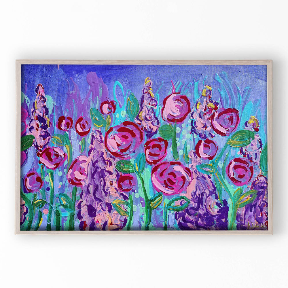 Load image into Gallery viewer, 'Fairy Garden' | Giclée Modern Art Print Set - Art by Nikki W