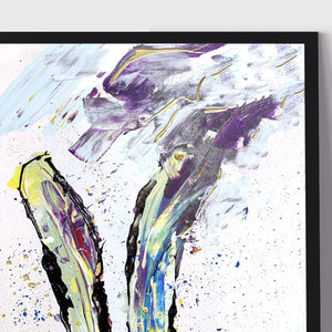 Load image into Gallery viewer, 'Hare Situation' | Giclée Modern Art Print - Art by Nikki W