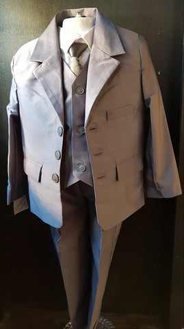 Gorgeous Collections 5 piece suit grey