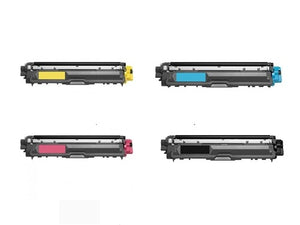 Brother TN-221BK TN-225 C/M/Y Compatible Toner Cartridge Combo