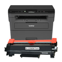 Load image into Gallery viewer, Brother HL-L2390DW Printer Toner Cartridge, Black, Compatible, New