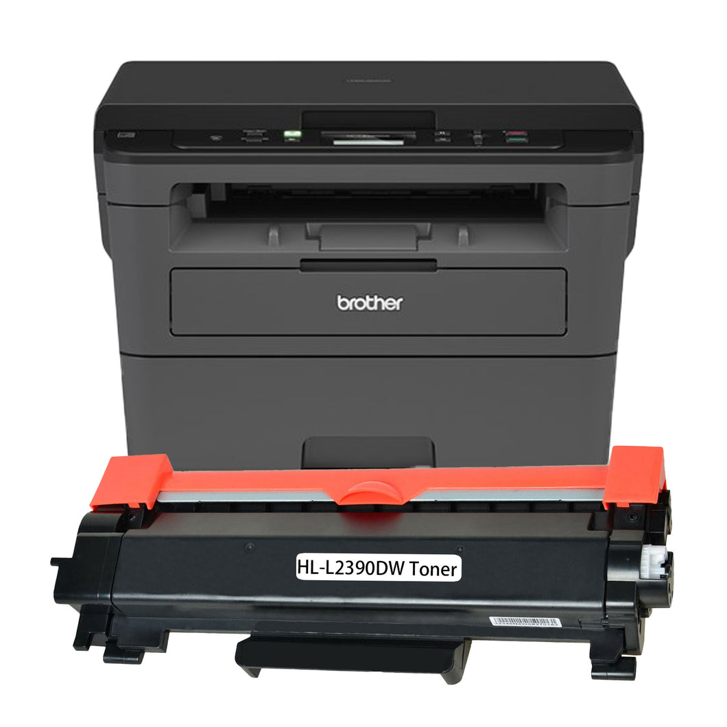 Brother HL-L2390DW Printer Toner Cartridge, Black, Compatible, New