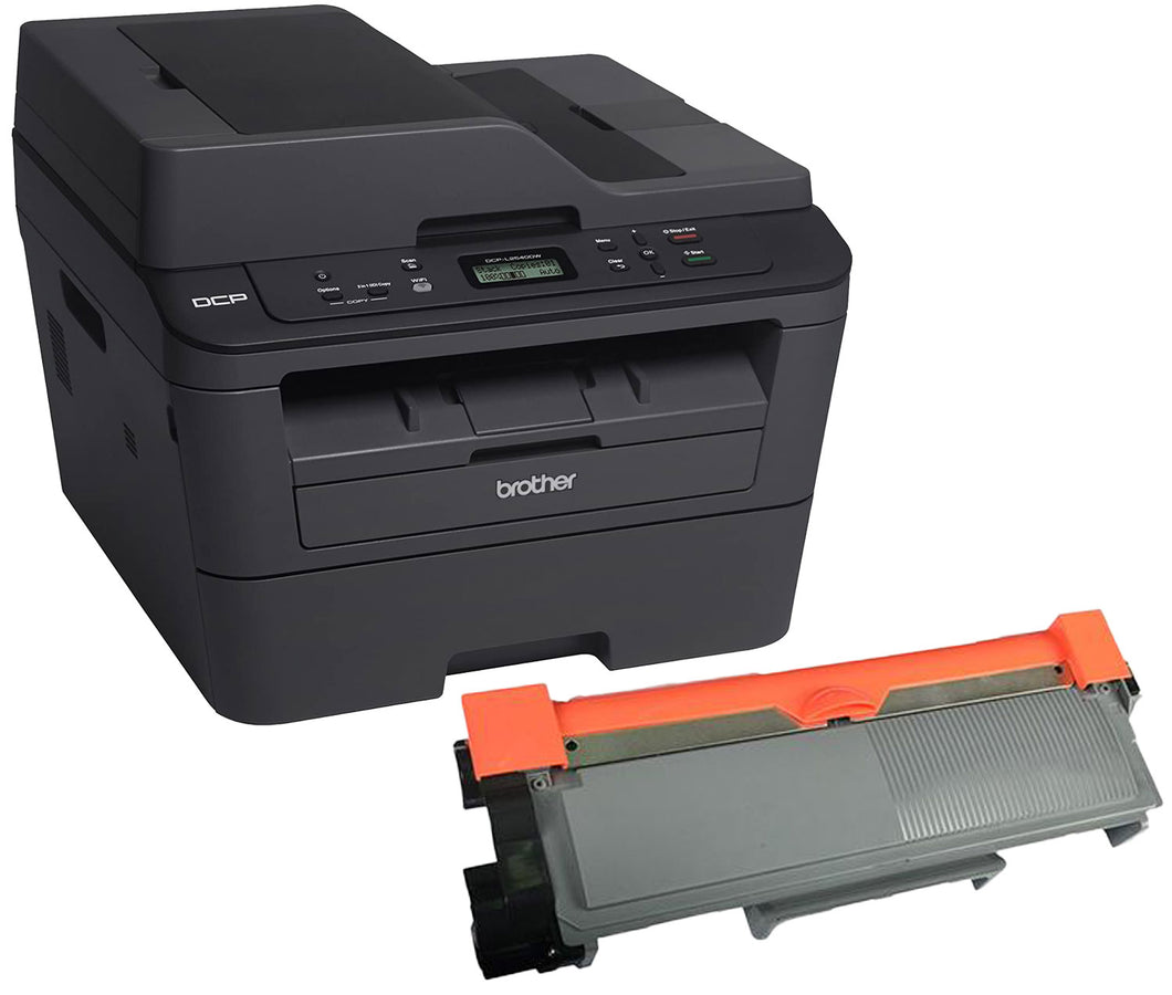 Brother DCP-L2540DW Printer Toner Cartridge, Black, Compatible, New
