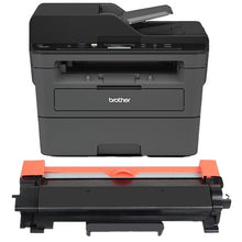 Load image into Gallery viewer, Brother DCP-L2550DW Printer Toner Cartridge, Black, Compatible, New