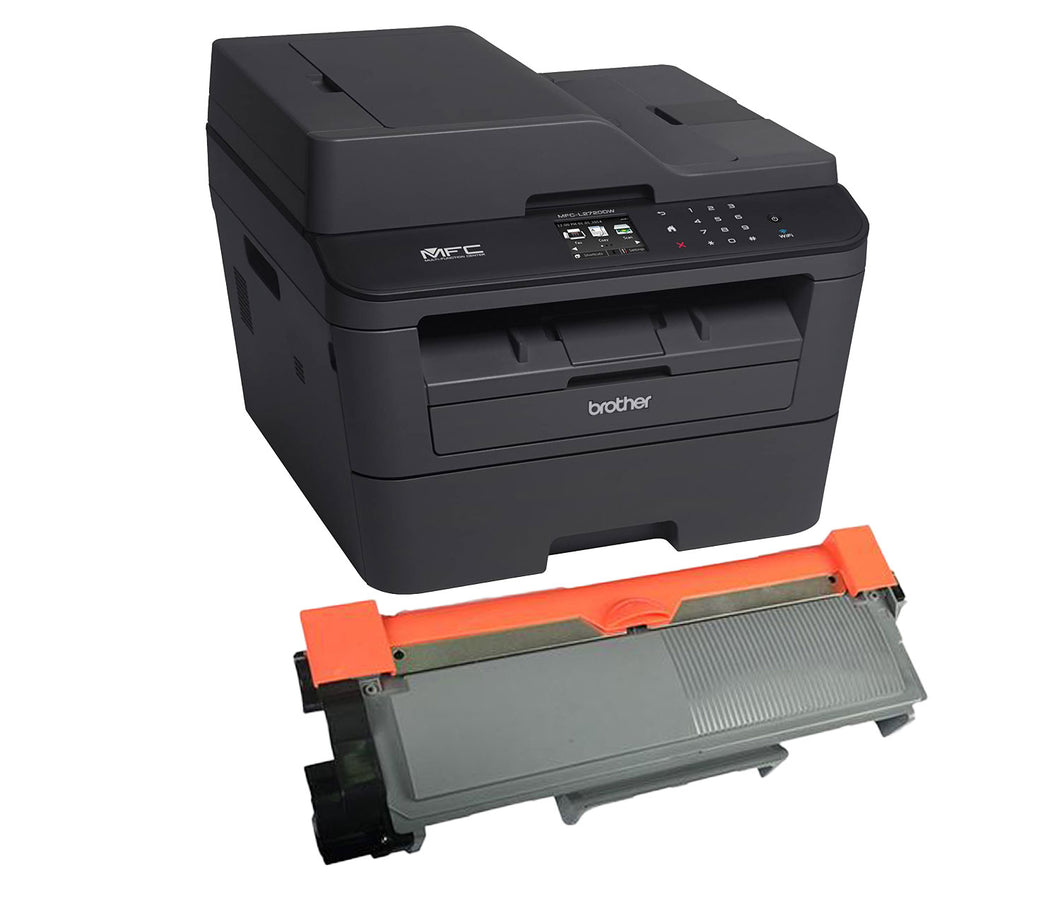 Brother MFC-L2720DW Toner Cartridge, Compatible, High Yield