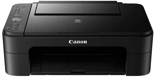 Canon PIXMA TS3129 Wireless All-in-One Inkjet Printer, Black