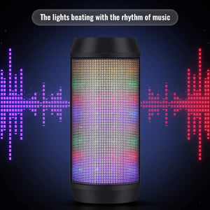 Portable Wireless Bluetooth Speaker with Microphone