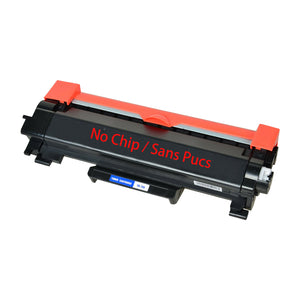 Brother TN730 Black Toner Cartridge, Compatible - No Chip