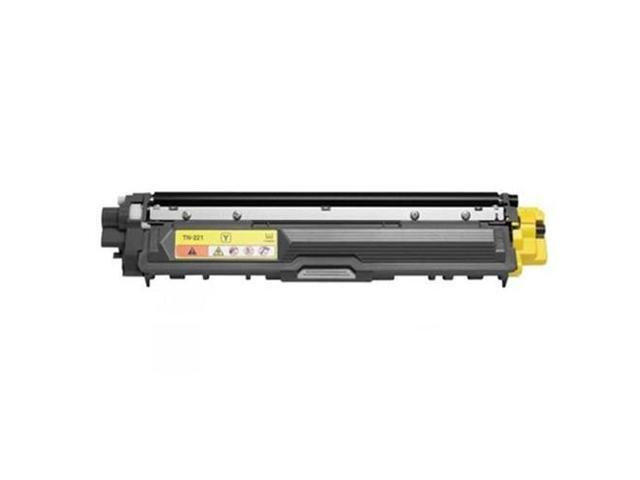 Brother TN225Y Toner Cartridge, TN225 Yellow High Yield, Compatible