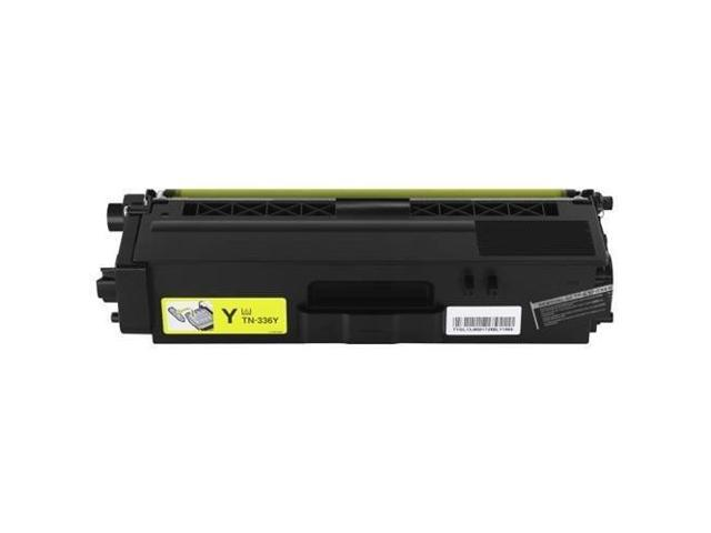 Brother TN336Y Toner Cartridge, Yellow Compatible
