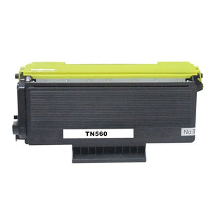 Brother TN560 Toner Cartridge, Compatible, Black