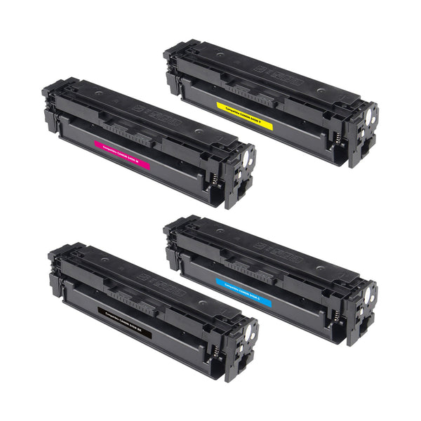 Canon 045 Compatible Toner Cartridge Combo BK/C/M/Y