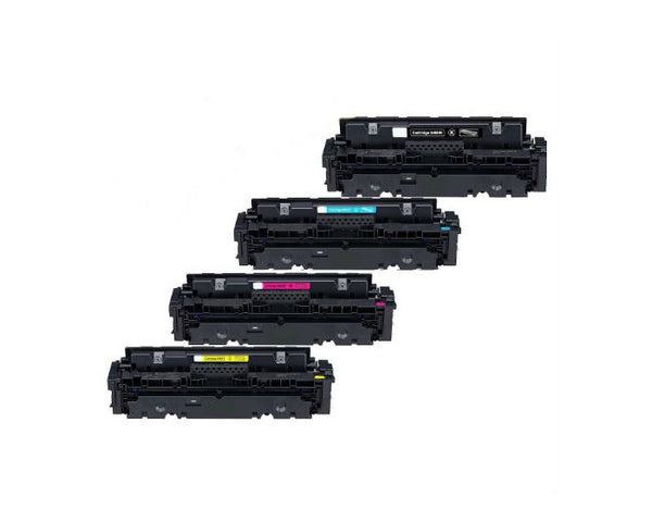 Canon 046 Compatible Toner Cartridge Combo BK/C/M/Y