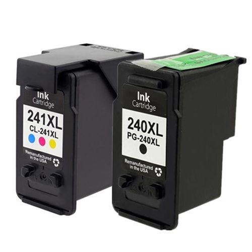Canon PG240XL CL241XL Black and Color Ink Cartridge Combo, Compatilbe