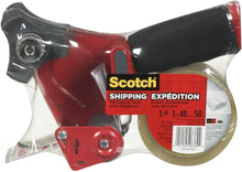 "Load image into Gallery viewer, Scotch Shipping Packing Tape, 1.88"" x 50m, 1 Roll with Dispenser"
