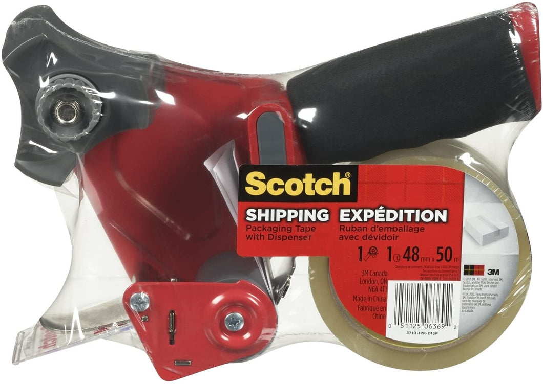 Scotch Shipping Packing Tape, 1.88